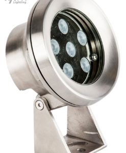 LED Pond Underwater Light Stainless Steel 15W in RGB 14cm Havit Lighting