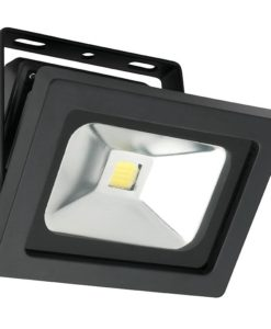 LED Flood Light Black 15W in 5500K 12cm Lorne Mercator