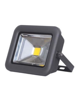 LED Flood Light Outdoor Black 10W in 5700K 16cm New Star Sunny Lighting