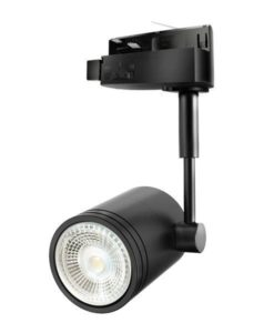 Track Light Single Phase in Black CLA Lighting