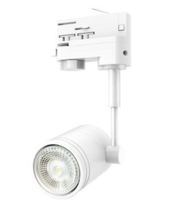Track Light Three Phase in White CLA Lighting