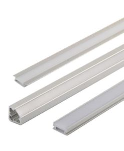 Channel for LED Strip Light Silver Surface Mount in 52cm CLA Lighting