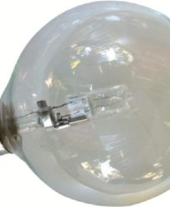 Halogen Globe Bulb Lamp Spherical Energy Saving Clear 240V B22 42W 125mm