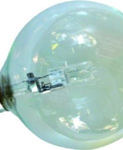 Halogen Globe Clear B22 42W in 10cm UGE Lighting