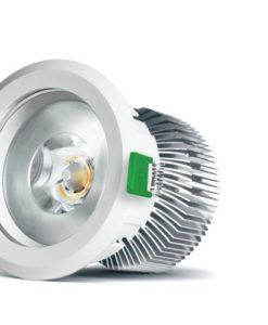 LED Downlight Dimmable Gimbal White 15.7W in 4000K 11cm Brightgreen