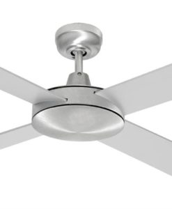 Grange Ceiling Fan 130cm in Brushed Steel Mercator