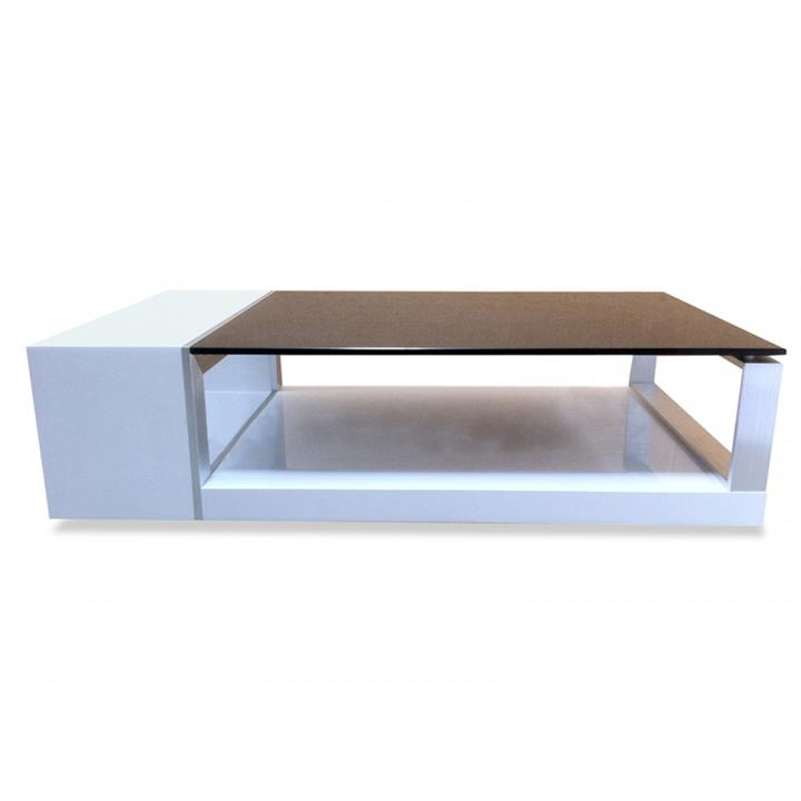 CLEARANCE - Eden Coffee Table - High Gloss White