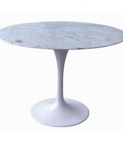 Tulip Marble Dining Table 90cm - Eero Saarinen Replica - Marble...