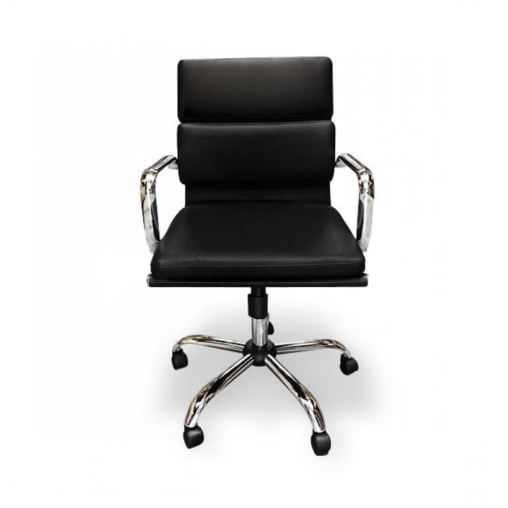Soft Pad Management Boardroom Office Chair - Eames Inspired - Black