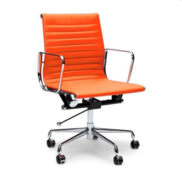 Management Boardroom Office Chair - Eames Replica - Orange
