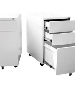Velocity 3 Drawer Moblie Pedestal - Office Storage