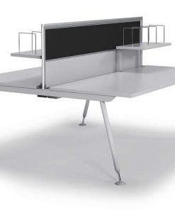 Tempo Two Desk Office Workstation