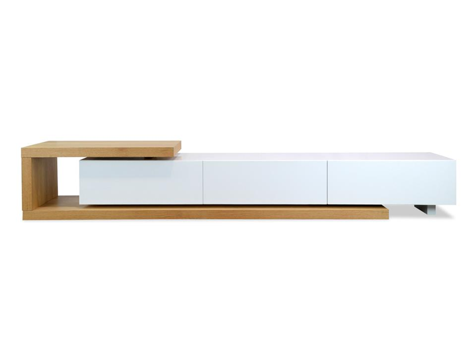 Dwell Scandinavian Entertainment TV Unit  - Lowline