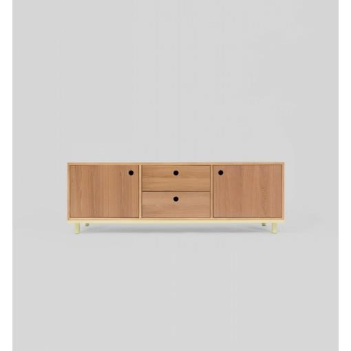 Zac Low Storage Buffet Unit - Lemon