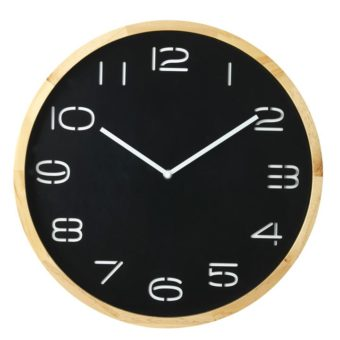 Leni Wall Clock - Black
