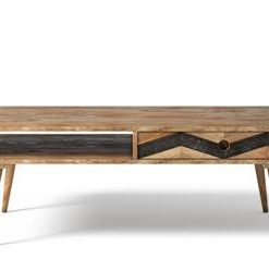 Potter Coffee Table - Natural Mango Wood