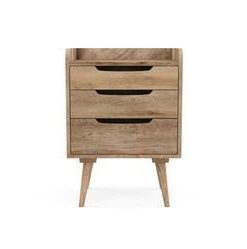 McEwan Side Table - Natural Mango Wood