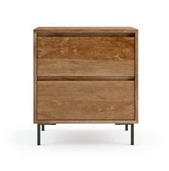 Martin Side Table - Natural Mango Wood