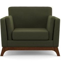 John Armchair - Periodot Olive