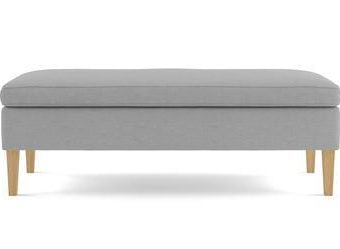 Alexa Bench - Cloud Grey