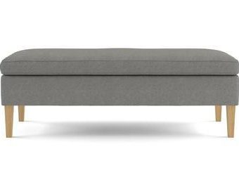 Alexa Bench - Stone Grey