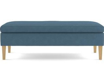 Alexa Bench - Atlantic Blue