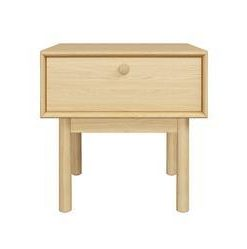 Kaneko Lamp Table with Drawer - Oak