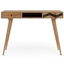 Potter Desk - Natural Mango Wood