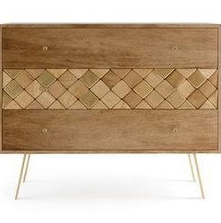 Roma Chest of Drawers - Natural Mango Wood