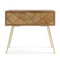 Roma Bedside Table - Natural Mango Wood