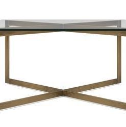 Kipling Coffee Table - Yellow Copper