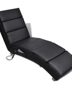 vidaXL Electric Massage Chair Functional Black