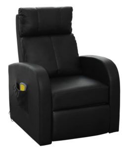 vidaXL Electric Massage with Remote Control Seat Height 49 cm