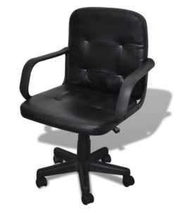 vidaXL Luxury Office Chair Quality Design Black
