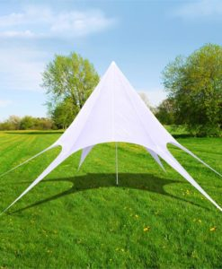 vidaXL Gazebo Hexagon Star Garden Pavilion 14m