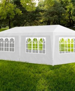 vidaXL Partytent 3x6 6wall white