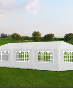 vidaXL Partytent 3x9 8wall white