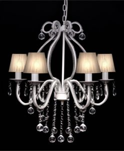 vidaXL Chandelier with 2300 Crystals White