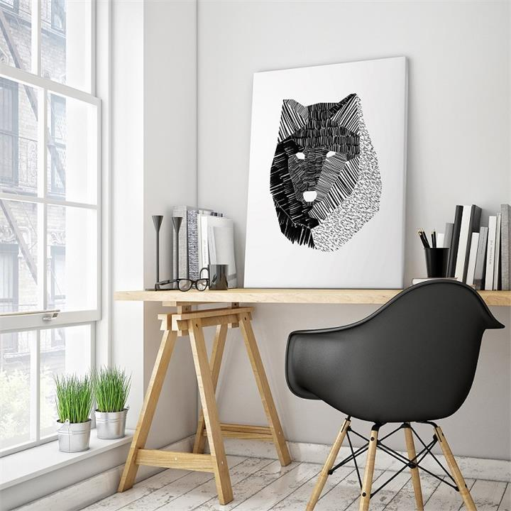 Wolf Mask | Ayarti | Canvas or Print
