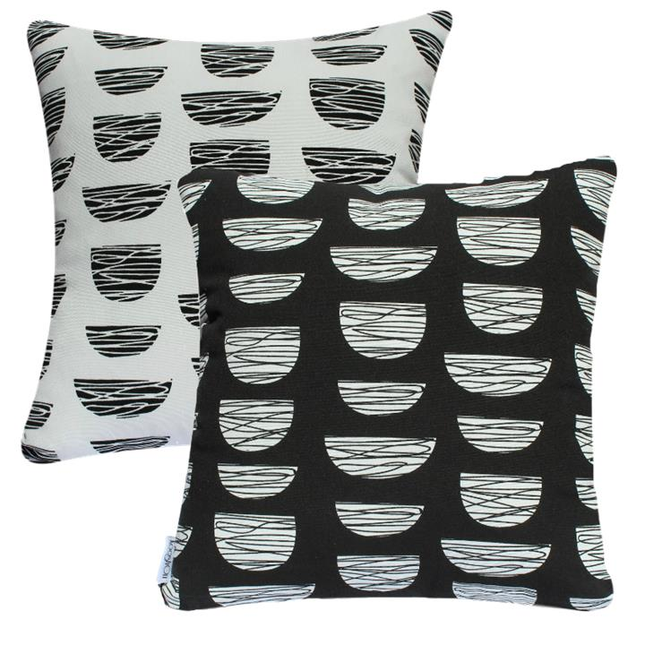 Century Nest | Reversible Indoor Outdoor Fade and Water Resistant Cushion | Includes Insert