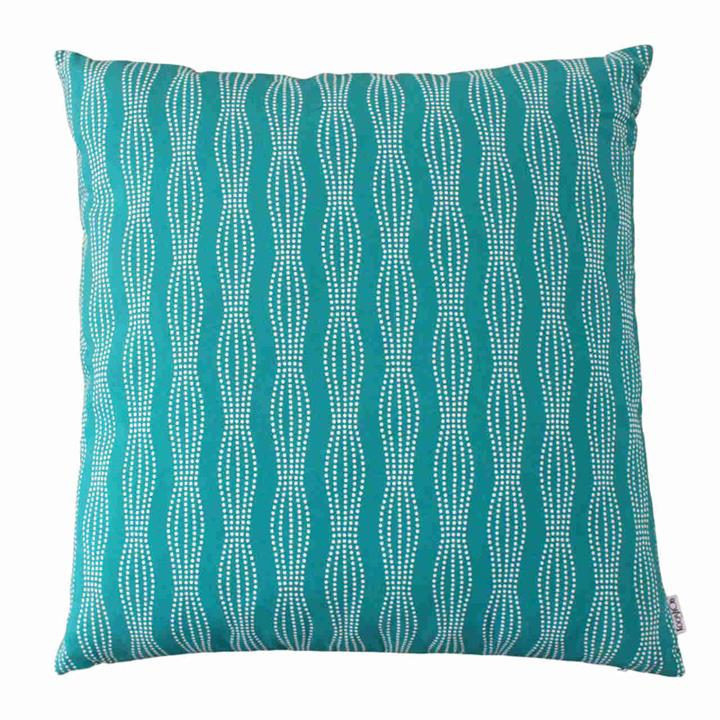 Fantasia Galaxy Teal | Indoor Outdoor Fade and Water Resistant Cushion | Includes Insert