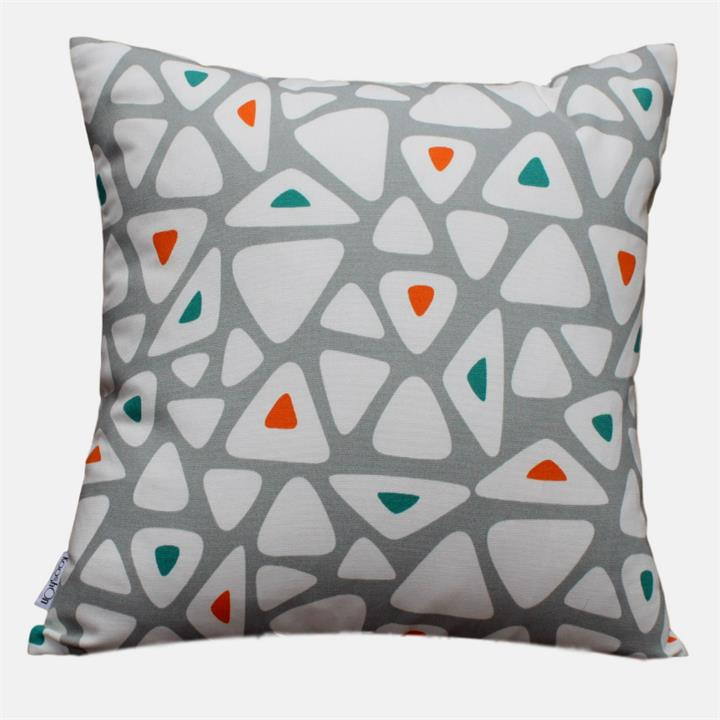 Fantasia Festive Teal | Indoor Outdoor Fade and Water Resistant Cushion | Includes Insert