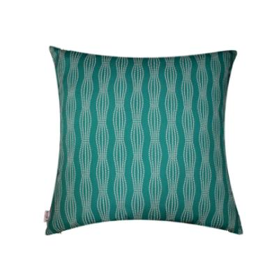 Fantasia Galaxy Teal | Indoor Outdoor Fade and Water Resistant Floor Cushion | Includes Insert