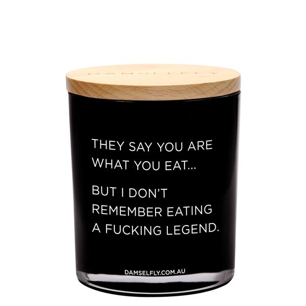 You Are What You Eat | XL Candle