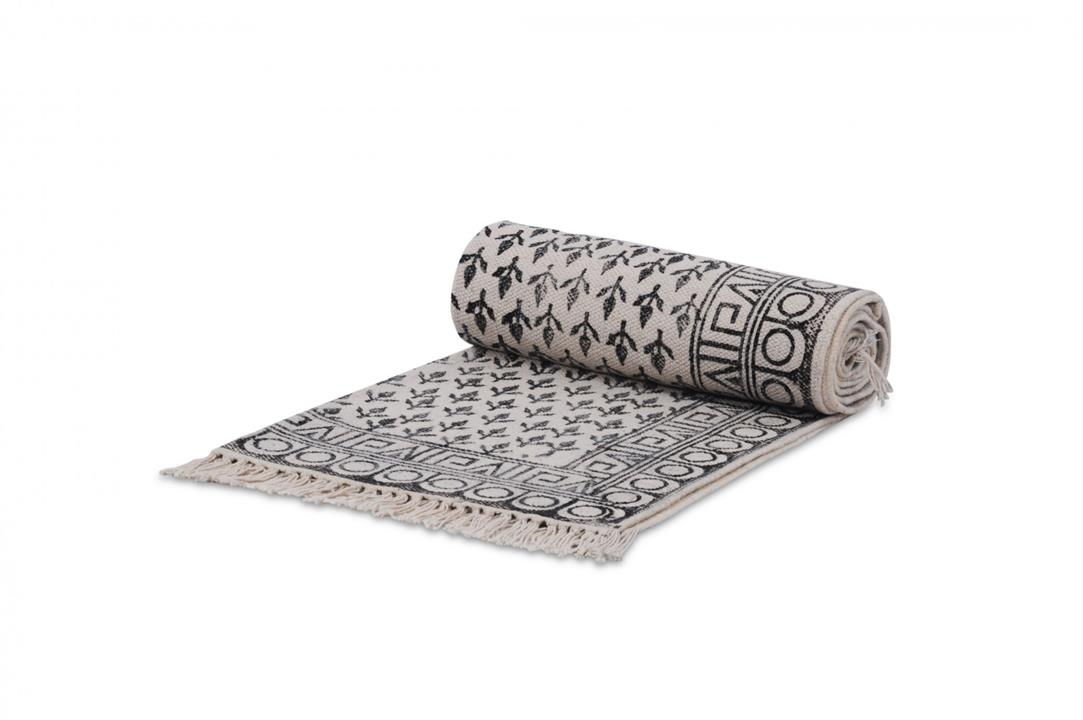 Berber Runner Rug | Grey