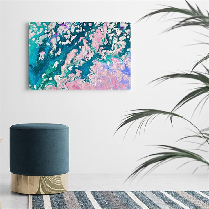The Swirl Print | Canvas and Framed Print