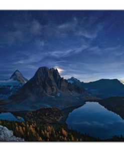 Starry Night at Mount Assiniboine | Prints and Canvas