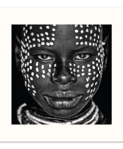 Karo Girl | Square | Prints and Canvas