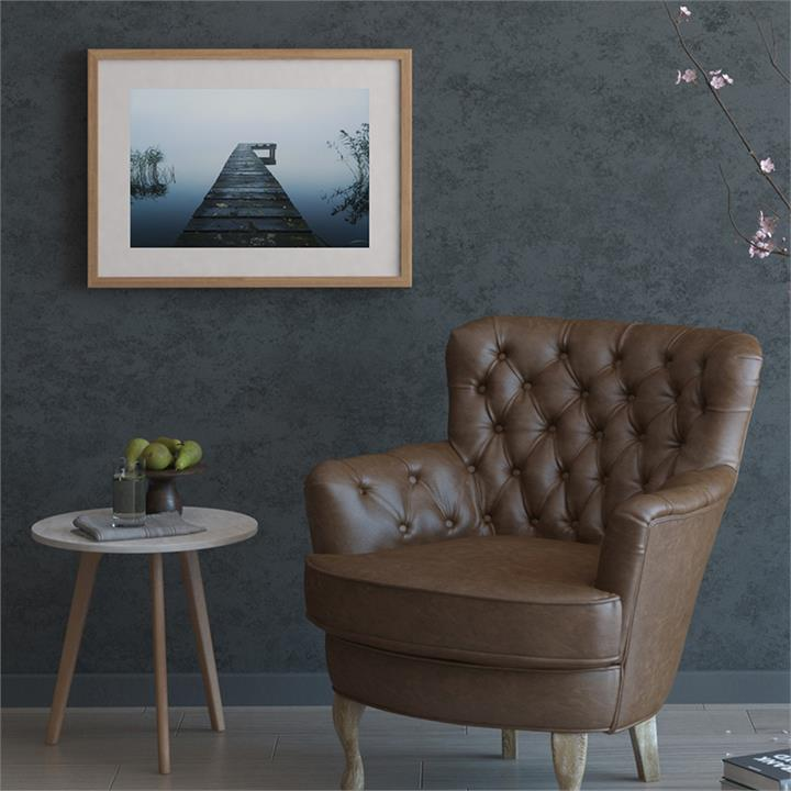 The Jetty Print | Canvas and Framed Print