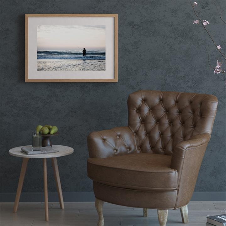 The Ocean Print | Canvas and Framed Print